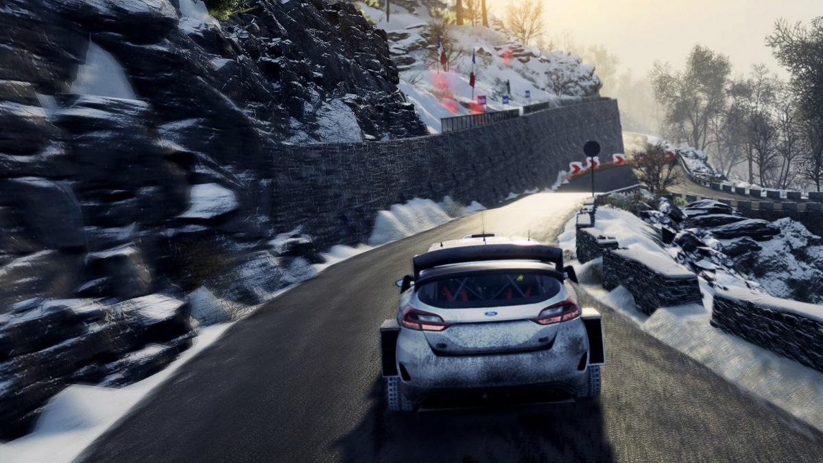WRC 8 incluye mas de 50 equipos oficiales, clima dinámico y mas