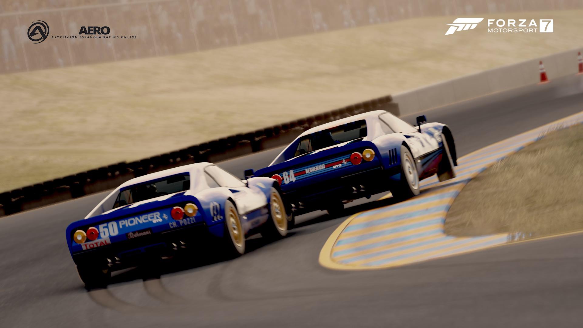 El sistema de regulación de carreras de Forza Motorsport 7 se cierra en marzo (BETA), lanzamiento público en Abril