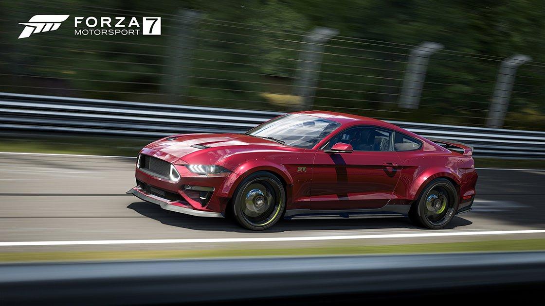 Actualización de Forza Motorsport 7 de marzo ahora disponible: RTR Mustangs, FRR Beta y más
