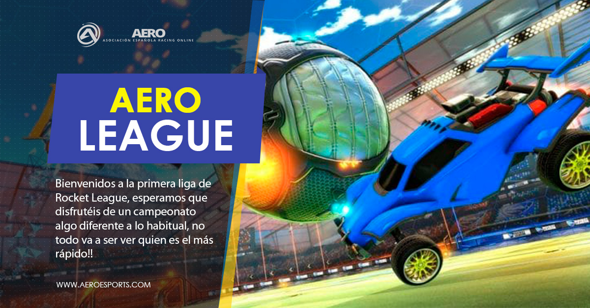 Empezamos la liga de Rocket League
